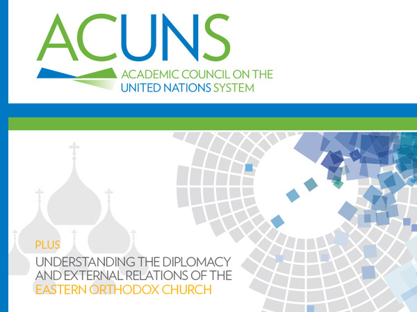 Cover of ACUNS Journal 2017