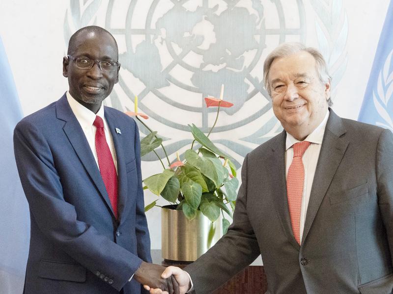 Ambassador Collen Kelapile of Botswana