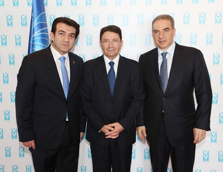 Nicolas Badaoui UNWTO Meeting photo