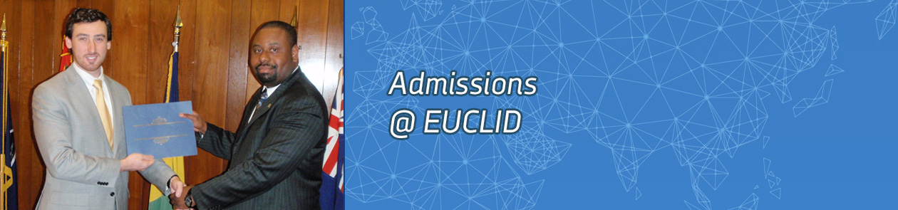Banner image for EUCLID Admissions