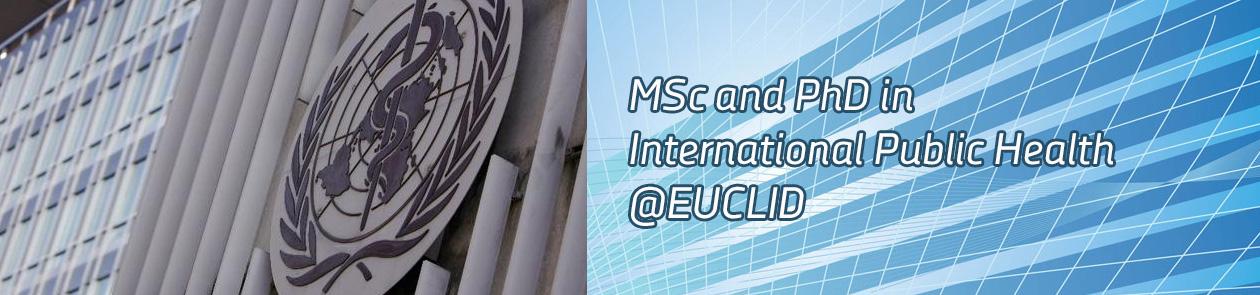 EUCLID Online Doctorate in International Public Health